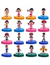 Western Anime Cherry Pellets Hand 16 Clubs 4 Concert Review Family Doll Ornaments