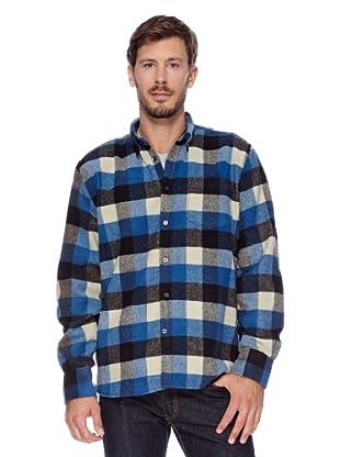 Redgreen Camisa Comfort (Azul Marino / Negro / Blanco)
