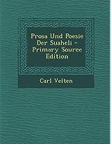 Prosa Und Poesie Der Suaheli