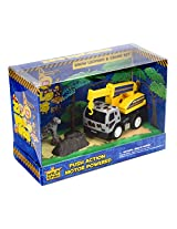 Zoo Builders Leopard Snow & Crane Set
