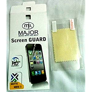 Motorola Moto E Matte/Anti Glare Screen Scratch Guard Protector
