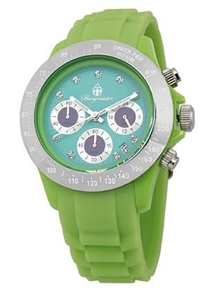 Burgmeister Damen-Armbanduhr Chronograph Quarz Silikon BM514-990D