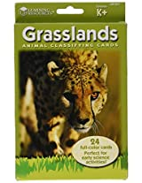 Learning Resources Animal Classifying Cards, Grasslands