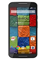 Motorola Moto X (2nd Generation) - Black Soft Touch - 16 GB (U.S. Warranty) Unlocked Phone