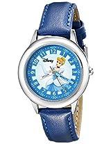 Disney Kids' W000058 Cinderella Stainless Steel Time Teacher Watch