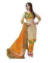 JAVULI pure cotton salwar suit dress material : aarvi-1517