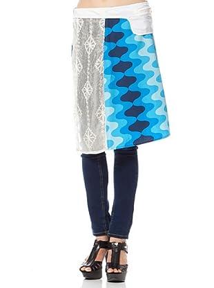 Custo Falda (Hueso / Azulón)