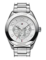 Tommy Hilfiger Designer Analog Silver Dial Women's Watch - TH1781215