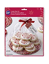 Wilton Christmas Cookie Plate Gifting Kit, 4-Pack