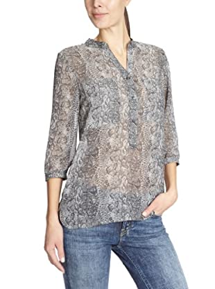 ONLY Bluse, Allover-Print (Mehrfarbig)