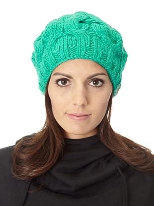 Foursquare Gorro Beret (verde esmeralda)