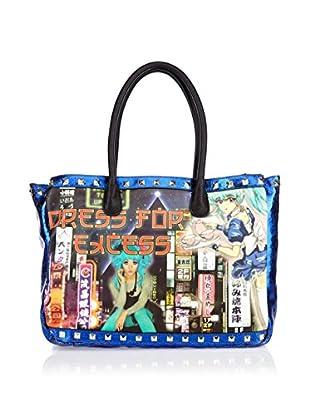 George Gina & Lucy Bolso de asa Mano Be Cookie Bag (Azul)