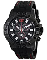 CAT Black Dial Alaska Chronograph Men's Watch CA.163.28.128