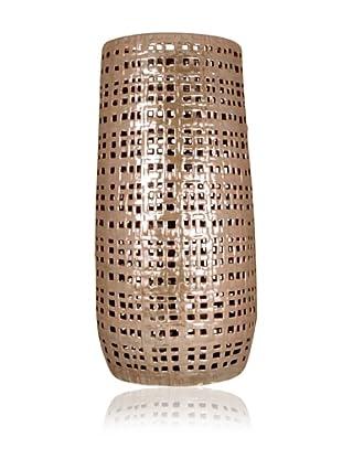 Pomeroy Weland Vase, Brown Iridescent