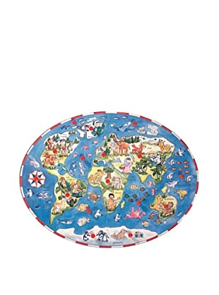 Beleduc Children Around the World 16-Piece Wood Puzzle