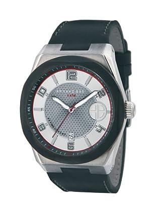 ARMAND BASI A0911G01 - Reloj de Caballero movimiento de cuarzo con correa de piel Negra