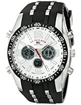 U.S. Polo Assn. Men's Black Rubber Analogue Watch - US9061