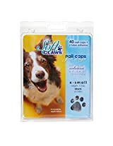 Canine Soft Claws Dog and Cat Nail Caps Take Home Kit, Medium, Black