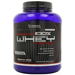 Ultimate Nutrition Prostar 100% Whey Protein - 5.28 lbs (Chocolate Cream)