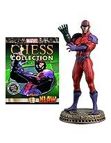Marvel Chess Figurine Collection Magazine #31 Klaw (Black Pawn)