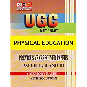 Physical Education Previous Years Solved Papers for UGC-NET-SLET Paper-1-2-3