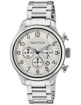 Nautica Chronograph Silver Dial Men's Watch - NTA17663G