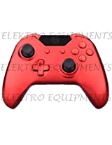 Xbox One Controller Premium Quality Red Chrome Replacement Housing Shell