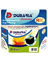Dubaria 810 Black Ink Cartridge Compatible For Canon Pg 810 Black