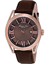 Kenneth Cole Analog Brown Dial Men's Watch - IKC8073