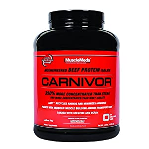 Musclemeds Carnivor, Chocolate, 4.6 Pounds