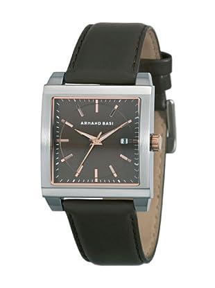 ARMAND BASI A0621G03 - Reloj de Caballero movimiento de cuarzo con correa de piel Marrón