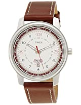 Timex Fashion Analog Silver Dial Men's Watch - TW000V804