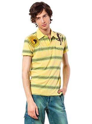 Custo Poloshirt Shox (Gelb)