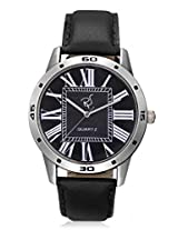 RICO SORDI Mens Black Leather Watch (RSMW_L11)