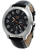 Helix Offshore Analog Black Dial Men's Watch - TI018HG0100