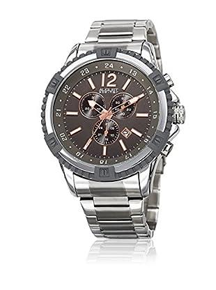 August Steiner Uhr mit japanischem Quarzuhrwerk Man AS8229SSGN 49 mm
