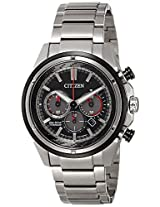 Citizen Chronograph Black Dial Men's Watch - CA4241-55E