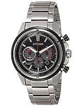 Citizen Chronograph Black Dial Men's Watch - CA4241-55E