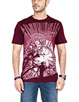 Zovi Men's Graphic Cotton T-Shirt 102648027010S