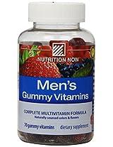 Nutrition Now Men's Gummy Vitamins Bold Fruit - 70 Gummies