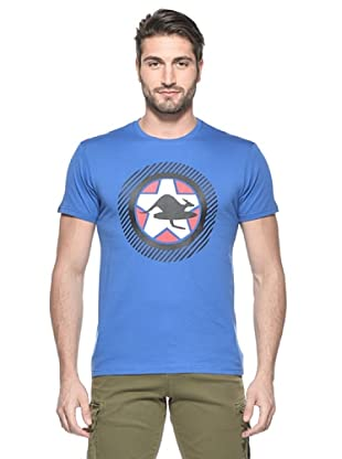 Hot Buttered Camiseta Steelpower (Azul)