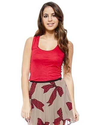 I-Code Camiseta Ribetes (Rojo)