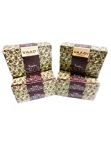 Vaadi Super Value Pack of 6 TEMPTING CHOCOLATE & MINT SOAP-Deep Moisturising Therapy (5 + 1 FREE)