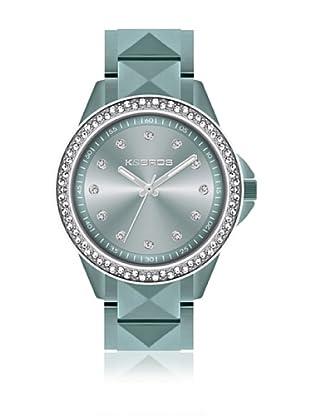 K&Bros  Reloj 9565 (Celeste)