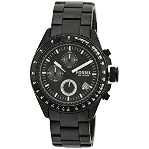 Fossil Decker Chronograph Analog Black Dial Men's Watch - CH2601