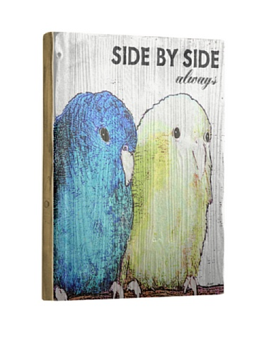 Artehouse Side by Side Reclaimed Wood Sign, 20