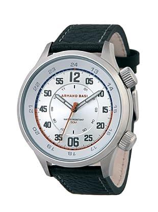 ARMAND BASI A1003G01 - Reloj de Caballero movimiento de cuarzo con correa de piel Negra