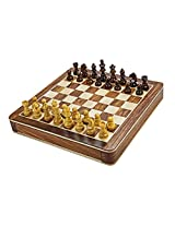 Chess Board/Set - Sheeshamwood Chess Board - CNC-MT-3 - By CHESSNCRAFTS