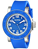 red line Men's RL-50051-03 Xlerator Analog Display Japanese Quartz Blue Watch