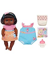 2012 Black African American Baby Alive Dressed For School Doll, 2 Outfits, She Drinks & Wets